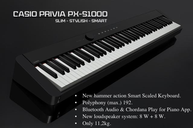 Digital Piano Namm 2019 : namm 2019 introducing the new casio px s1000 digital piano slim stylish smart and elegant ~ Hamham.info Haus und Dekorationen