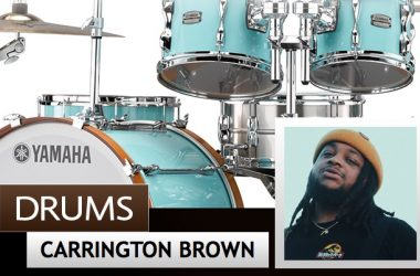 Carrington Brown - Yamaha Drums