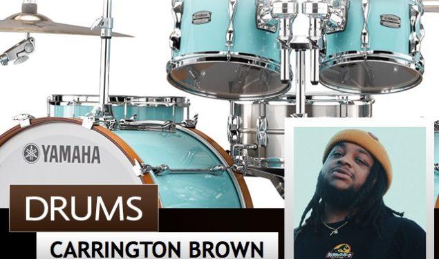 Carrington Brown of GRAMMY-winning artist, H.E.R Signs To Yamaha