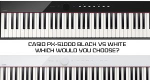 Casio PX-S1000 Black or White