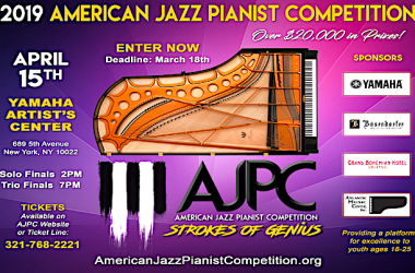 American Jazz Pianist Competition 2019