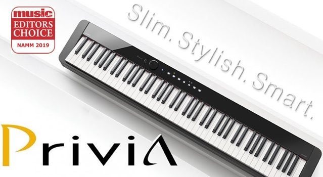 Casio Privia Editors Choice Award