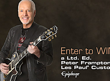 Enter to Win a Epiphone Peter Frampton Les Paul Custom Guitar!