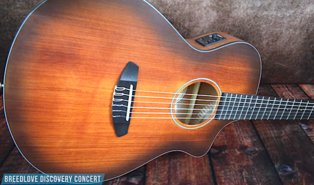 Breedlove Discovery Concert Nylon CE – A Nylon String Guitar For The Modern Age.