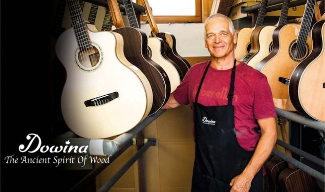 CUK Audio Move Into Acoustic Guitar Distribution with Dowina Guitars