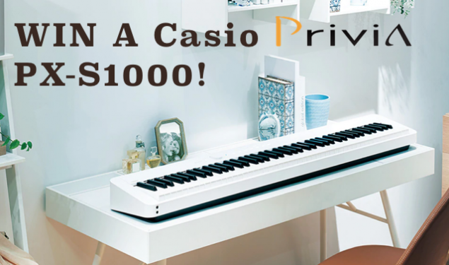 Win The Fantastic Casio PX-S1000 Digital Piano!