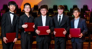 e-Piano Junior Competition Finalists