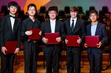 e-Piano Junior Competition Finalists