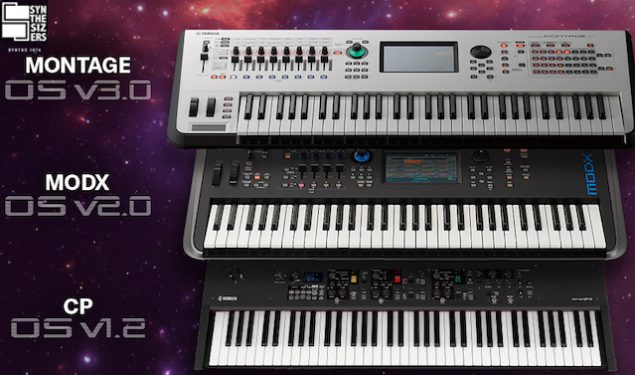 Major OS Updates for Yamaha MONTAGE, MODX and CP Stage Piano