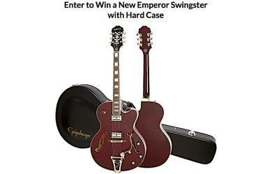 Epiphone Swingster Giveaway