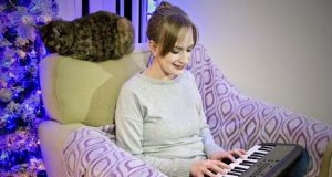 Emily With Yamaha PSS-A50