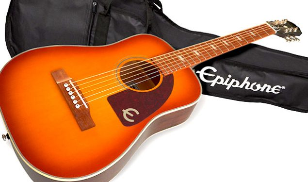 Win an Epiphone Lil' Tex Travel Acoustic/Electric Outfit