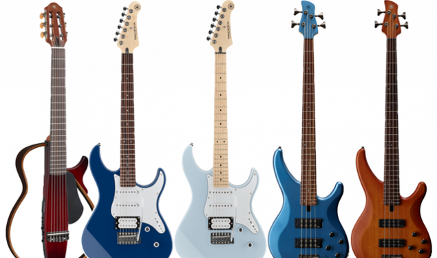 Yamaha Introduces The Color Collection for Pacifica, TRBX, and SILENT Guitar. NAMM 2020.