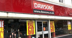 Dawsons Goes Into Administration