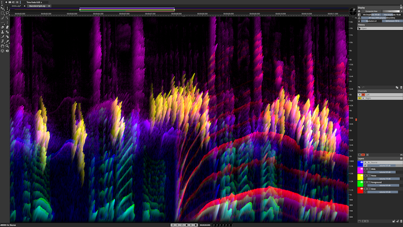 Full-Screen-Spectrum-Single-Channel-3D