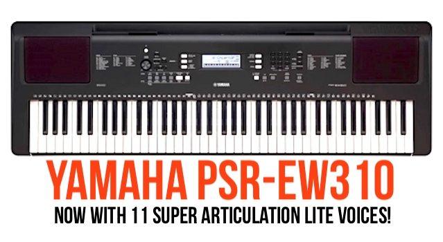 Yamaha PSR-EW310