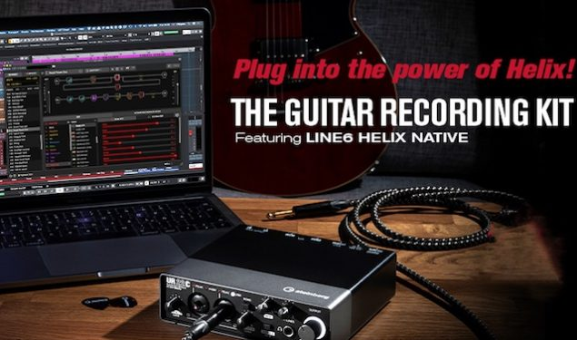 Steinberg in conjunction with Line 6 Introduce The Guitar Recording Kit