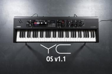 Yamaha YC OS v1.1 Update