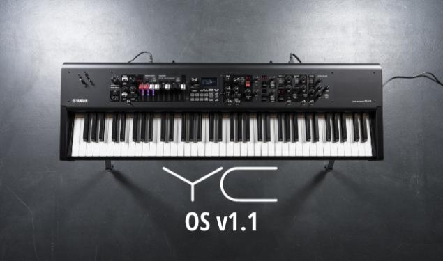 Yamaha Updates YC Stage Keyboards to OS v1.1