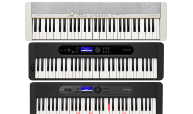Casio Music UK releases new Casiotone range for everyday music-makers